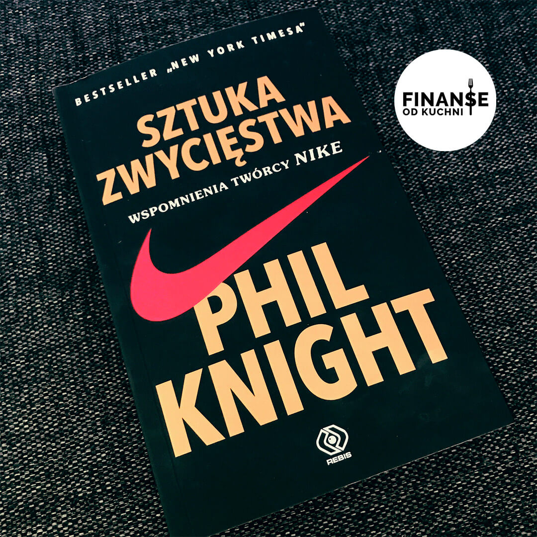 książka sztuka zwycięstwa Nike